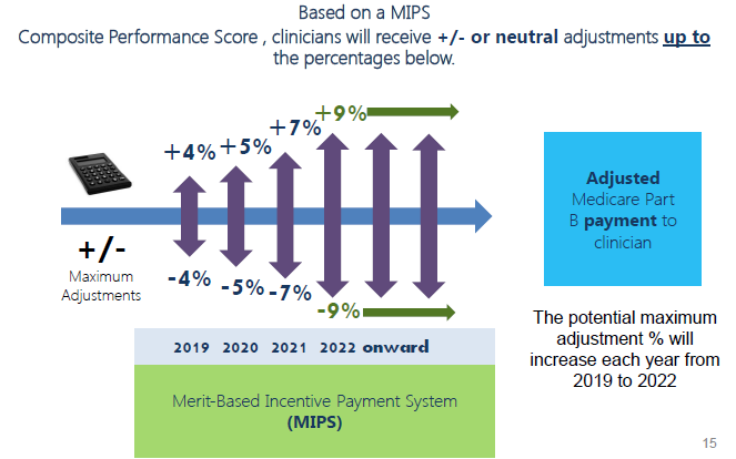 MIPS adjustments and APM Incentive Payment